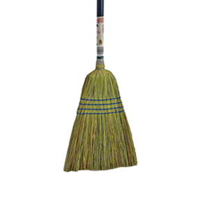 #113 Good Value Brooms w/Blue Handle