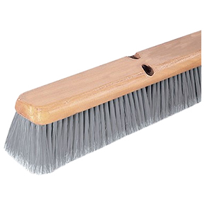 "CAR3621952423 24"" Fine Gray Floor Sweep Brush w/No Handle"