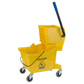 CAR3690804 26Quart Yellow Bucketw/ Side Press Combo