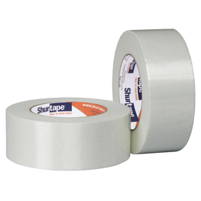 GS490 3/8 x 60yds Filament Tape 96rls/cs 64cs/sk