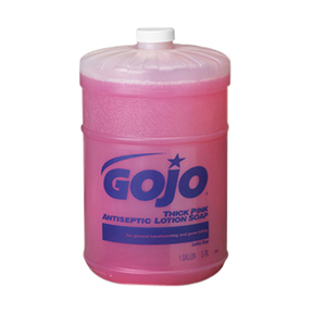 #1845-04 1Gallon GOJO Thick Pink Antiseptic Flatop Lotion