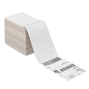 2 x 4 Direct Thermal Fanfolded Label, Perf'd per m