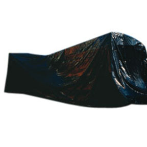 GB408 8ft x 100ft 4mil Black Poly Sheeting