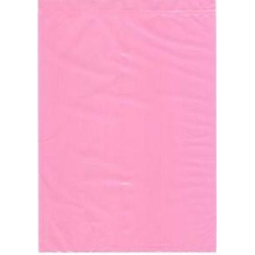 37 x 36 4mil Pink Poly Antistatic Round Bottom Liner