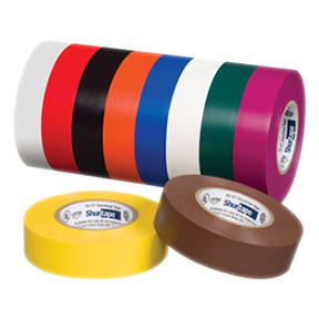 EL766AW-L 3/4 x 66ft Yellow Electrical Tape 100rls/cs