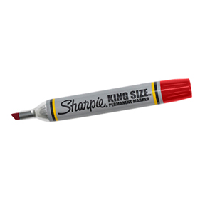 MK401RD Red Sharpie King Size Marker 12/cs