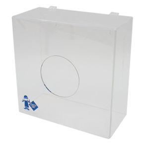 D-900AC Clear Acrylic Wall Dispenser for Bouffant Caps,