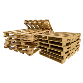 48 x 40 Recycled Grade 107 4-Way 3-Stringer Pallet