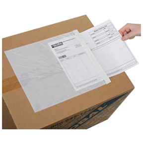 "ENVPQ6510 6 1/2 x 10 ""Clear Face"" Document Envelopes -"