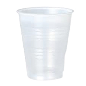 Y7 7oz Solo Clear Ribbed Plastic Cups 2500/cs
