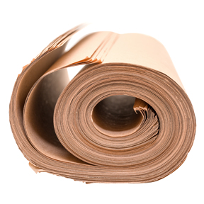 18 x 24 30lb Recycled Kraft Paper Sheets 40bndl/sk