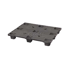 48 x 40 Closed Deck Nestable Plastic Pallet 2600lbs