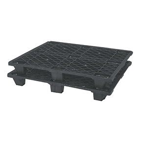 47.24 x 39.37 Model 110 Plus Black Plastic Pallet