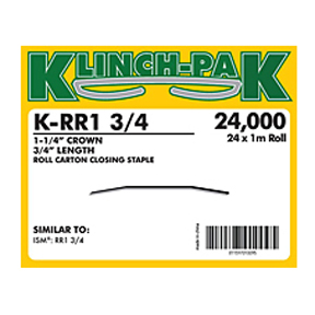 "K-RR1-3/4 3/4""Leg x 1 1/4""Crown RR1 Roll Staple"