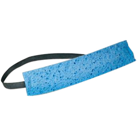 A300700 Blue Absorbent Cellulose Sweat Band 100/pk